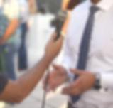 Kamerapräsenz im Interview
