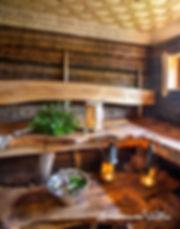 Luonnottaren Voimalan sauna Porin Ahlaisissa.