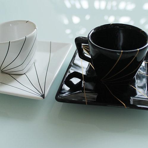 Xícara café TÓKIO preta
