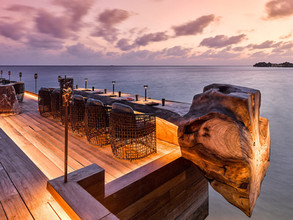 Saoke Terrace, Joali Maldives