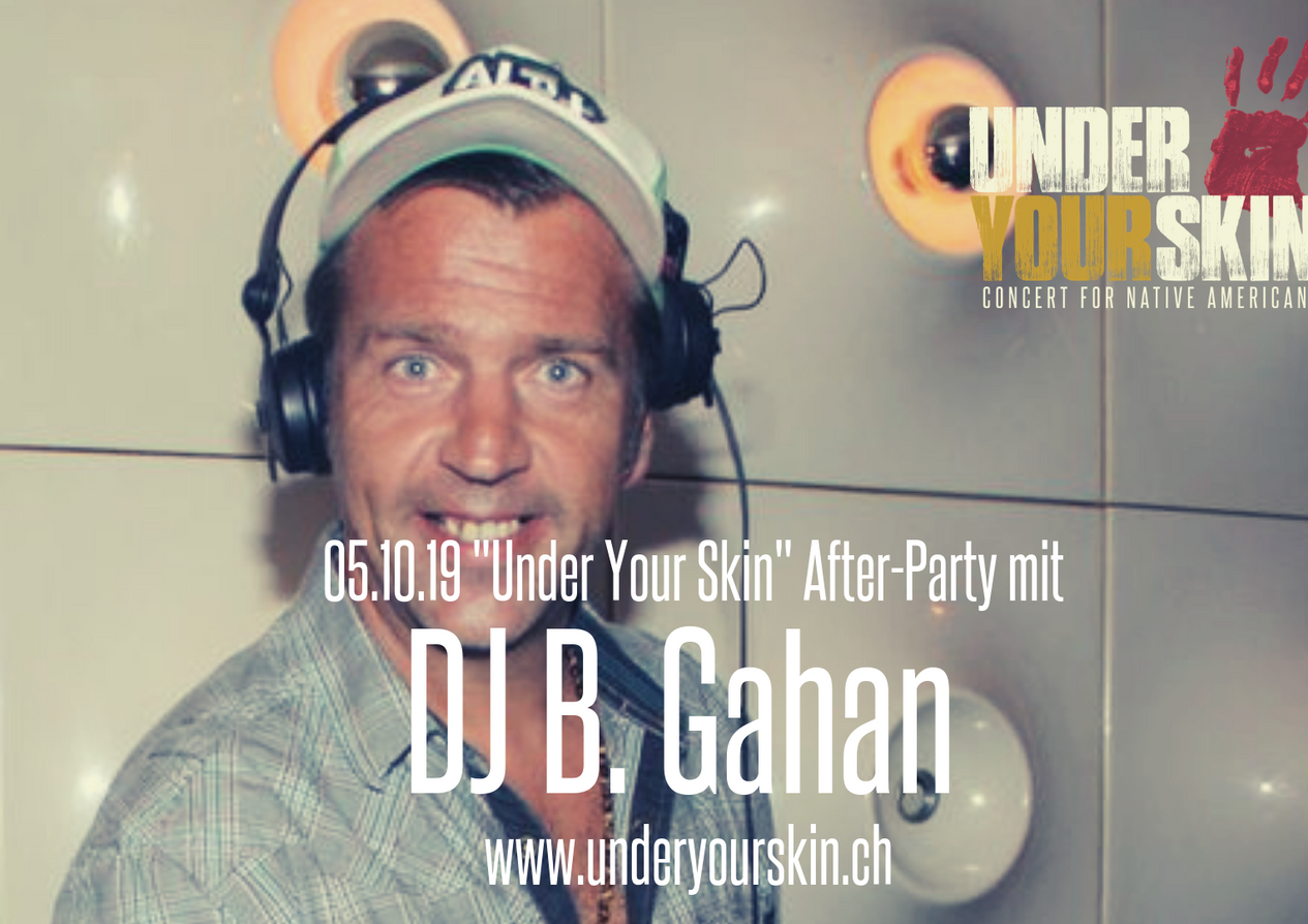 Aftershow-Party with DJ B. Gahan