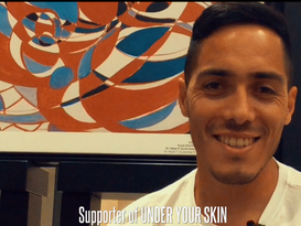 """Scarione supports """"Under Your Skin"""""""