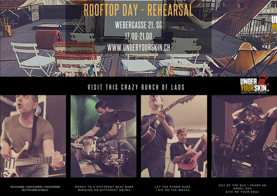 Rooftop Day - Rehearsal