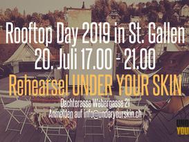 Am Rooftop Day in St. Gallen 20. Juli 17