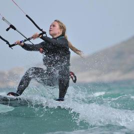 Kitesurfing med Addwater
