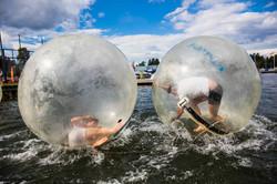 Prova på Waterballs