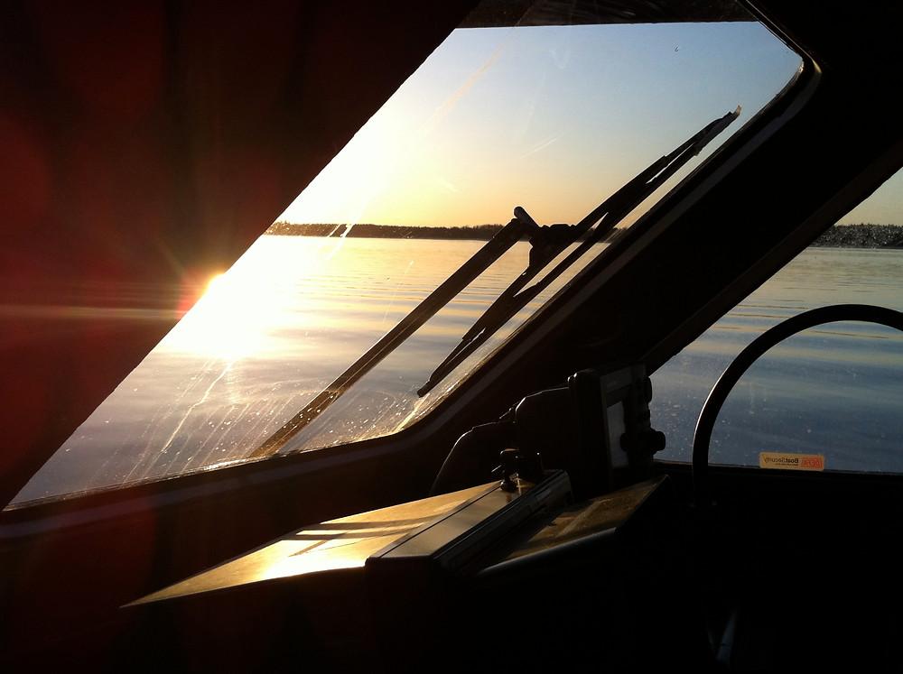 Defroster på högfartsbåtar