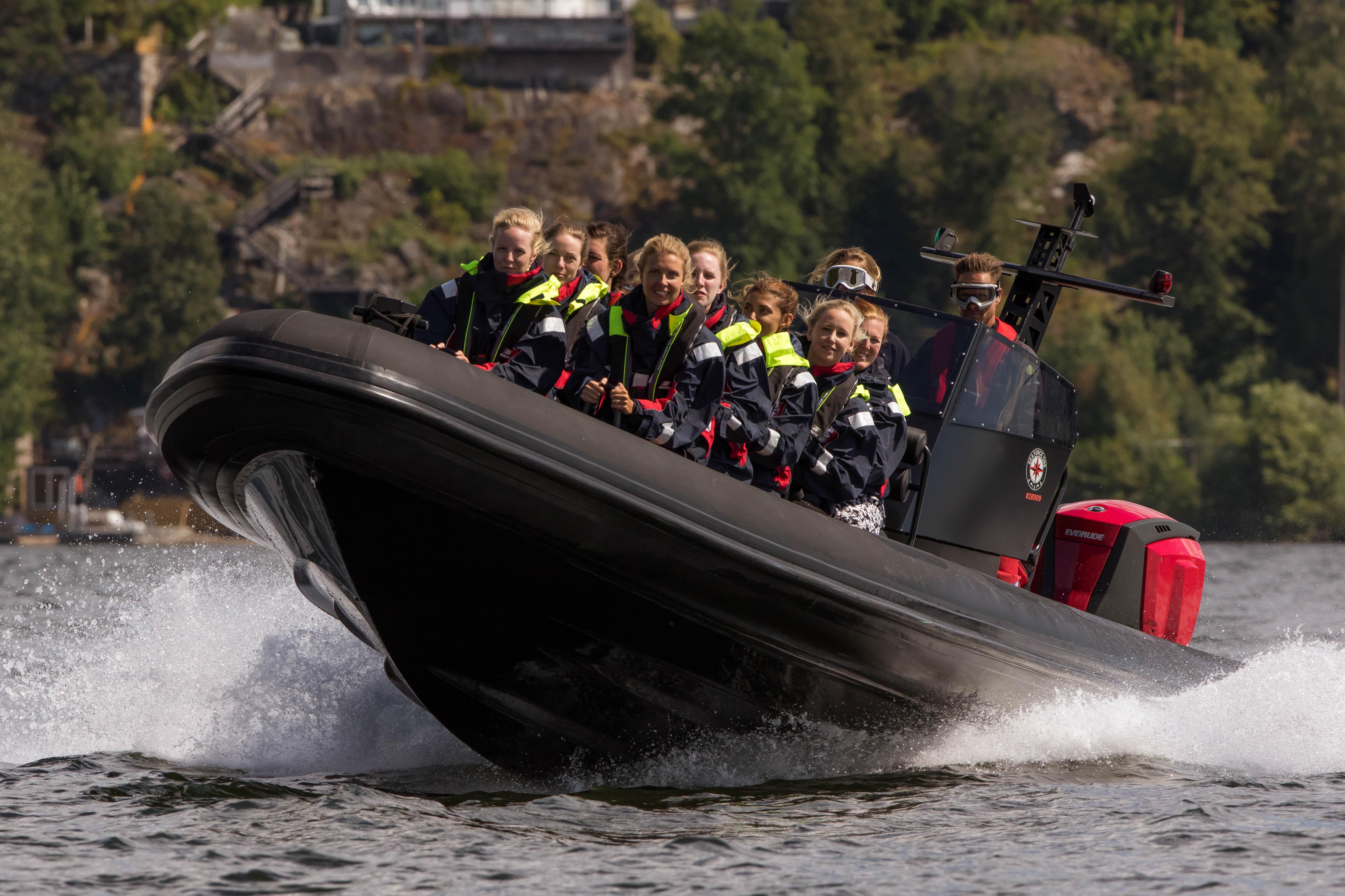 Ribbåt Stockholms skärgård och Mälaren
