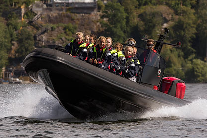 Ribbåt stockholm