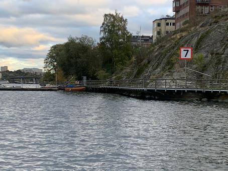 Hur fort får man köra på sjön?