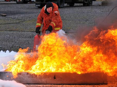 Övningsuppgifter säkerhet brandskydd enligt kursplan Fartygsbefäl klass 8