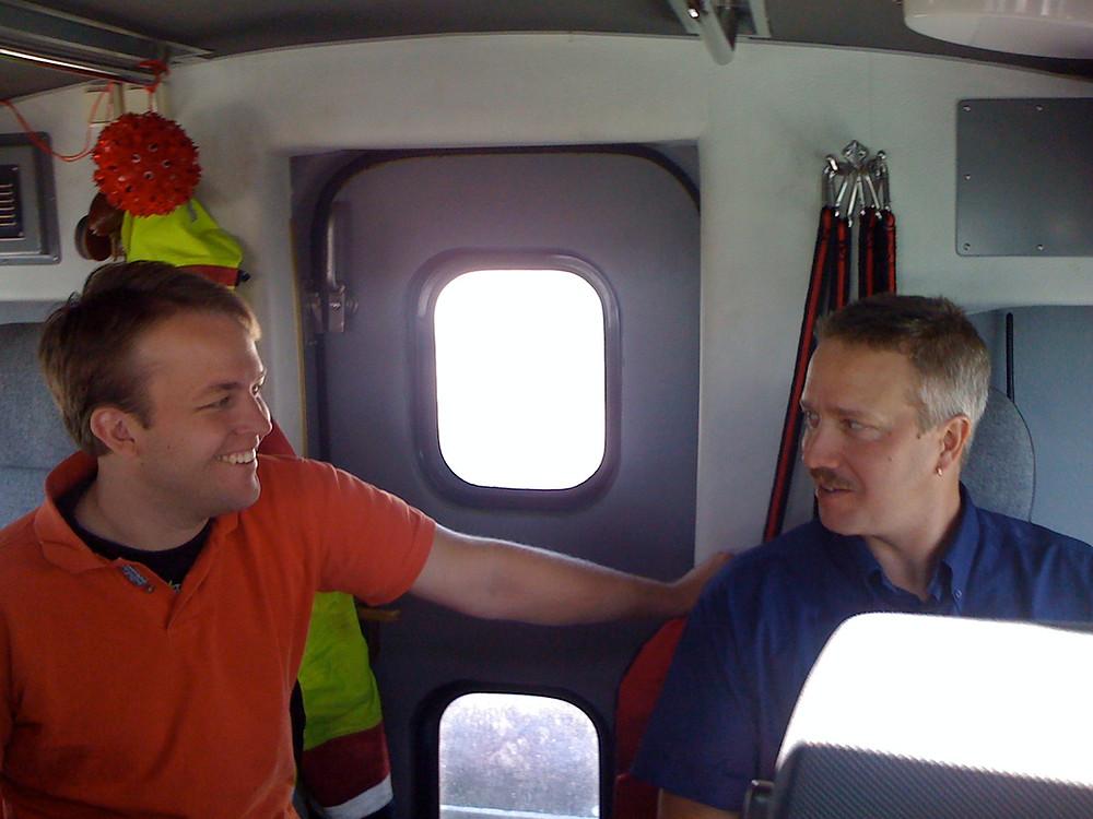 Jämn temperatur i hela båten är viktigt