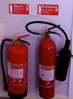 Utbildning i grundläggande brandskydd