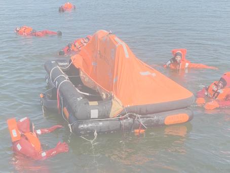 Övningsuppgifter personlig säkerhet för Fartygsbefäl klass 8