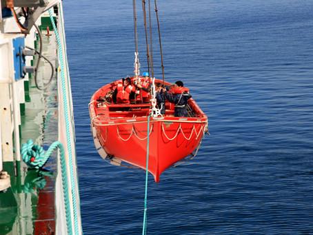Livbåtar enligt SOLAS konventionen