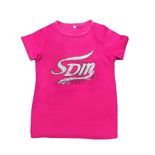 SDM桃紅色T-shirt