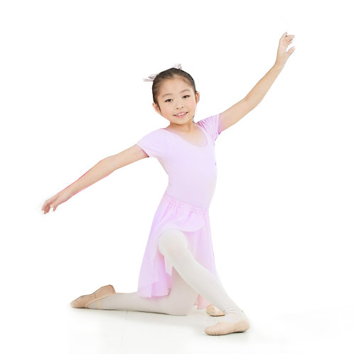 粉紫色短袖舞衣 (芭蕾舞)