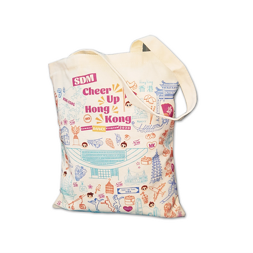 Cheer Up Hong Kong Totebag