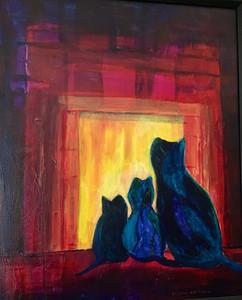 Dianne Brazeau - Warm by the Fire