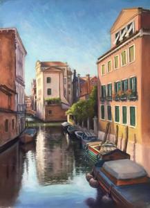 Sandra Benedetti Rosser - Across the Canal
