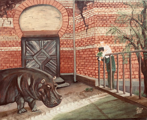Atmo Zakes - Visiting Knautschke (a famous Hippo at the Berlin Zoo)