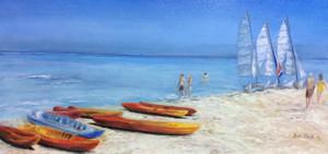Ruth Zack Cunningham - Cuban Beach