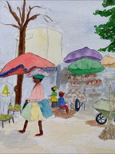 Catherine Daignault Ramsay - Haitian Market
