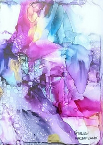 Kathleen Marleau Leggatt - Crystal Droplets