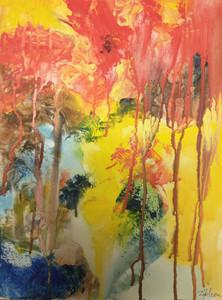 SOLD/VENDU - Doina Falcon - Come into my Forest