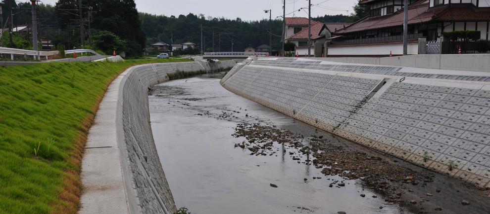 H23二級河川 沼田川水系 入野川広域河川改修工事