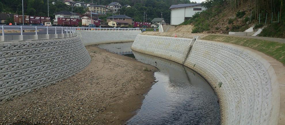 H25二級河川 沼田川水系 入野川広域河川改修工事