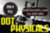 department of transportation physicals