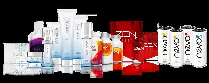 Prodotti Jeunesse - Instantly Ageless - Luminesce - Finiti - Zen Body - Nevo