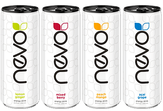 Lattine NEVO Energy Drink Jeunesse - JTEAM Network