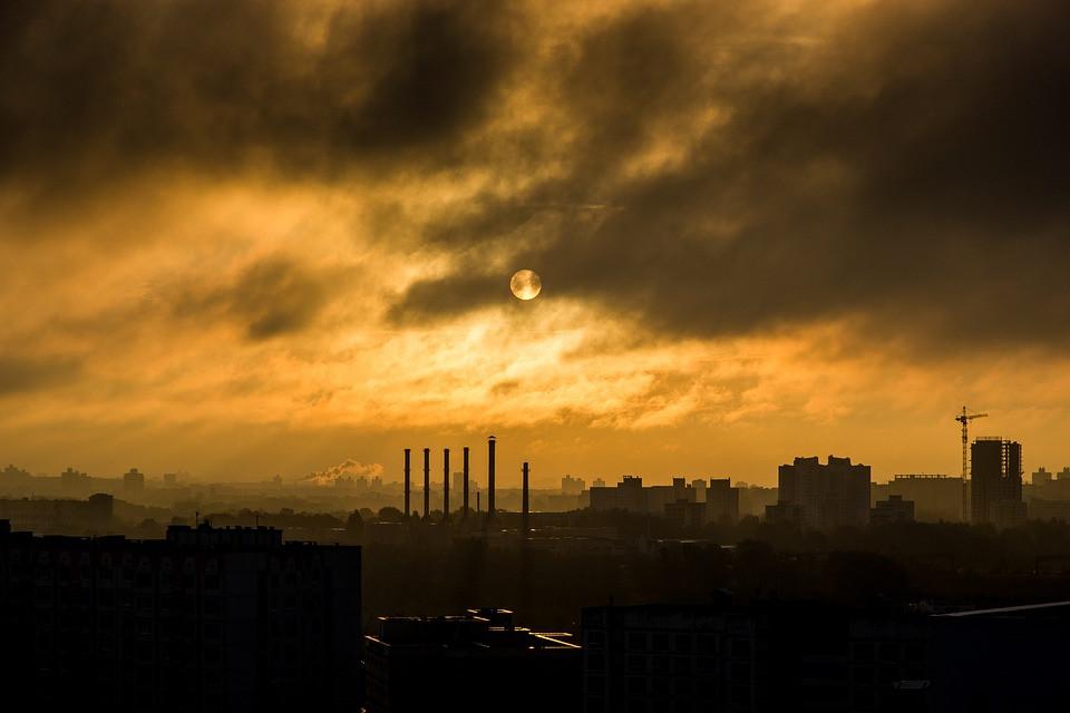 Inquinamento è una delle cause della produzione di radicali liberi