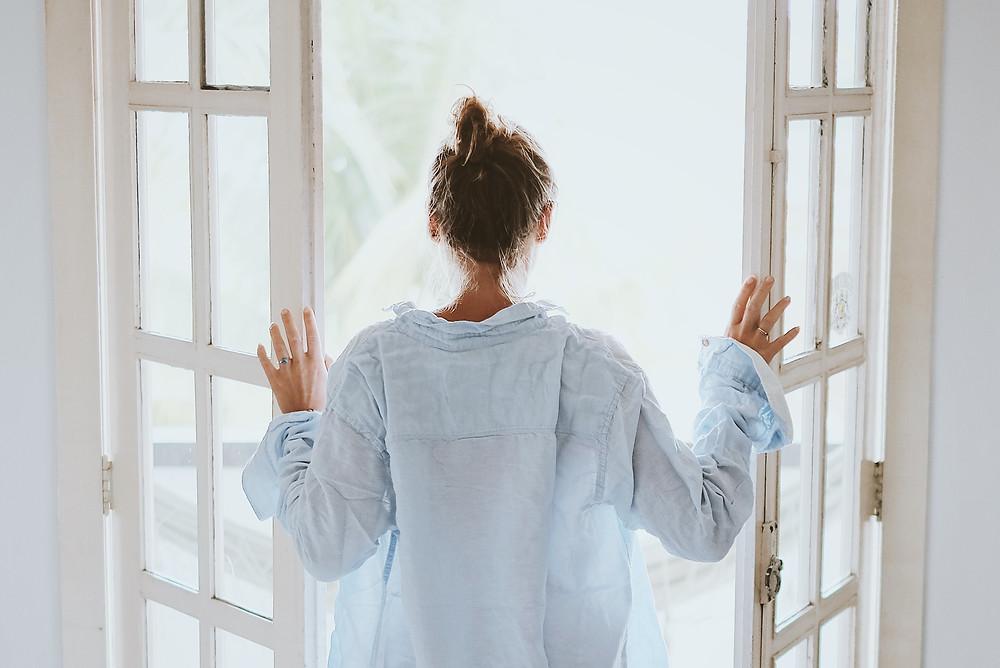 Risveglio. Un sonno ristoratore contribuisce anche alla salute della pelle.