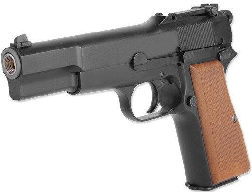 WE Browning Hi Power Gas Blowback Pistol