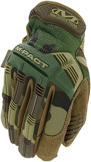 Mechanix M-Pact 3 Tactical Woodland Camo