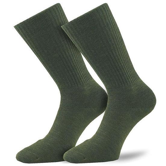 1000 Mile Combat Sock Olive Green