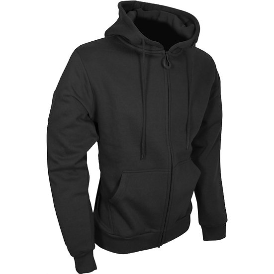 Viper Tactical Zipped Hoodie Black
