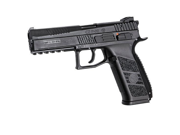ASG / KJ Works CZ P-09 Gas Blowback Pistol (Poly)