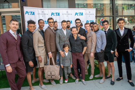 PETA Collaborates With NYFW's Stephen F To Debut Vegan Collection