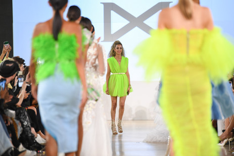 Narces Returns To Toronto Fashion Week With Neon And Shimmer