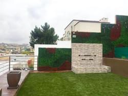 Muro Verde en Tijuana.