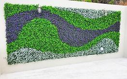 Instalacion de pasto para pared follaje.