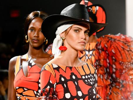 Chiara Boni's La Petite Robe Dazzles NYFW With Extravagant Elegance