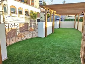 Venta e instalación de pasto artificial