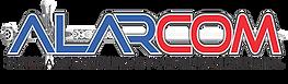 Logo alarcom seguridad y alarmas tijuana