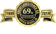great lakes fence 69th anniversary logo