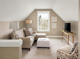 Beautiful small living room interior and